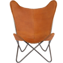1938 leather butterfly chair