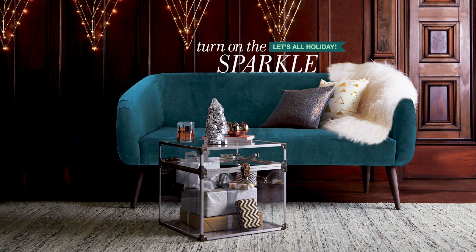 Let's all holiday! turn on the sparkle
