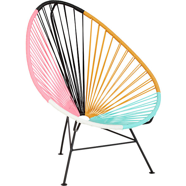Acapulco Multi Lounge Chair In Outdoor Cb2