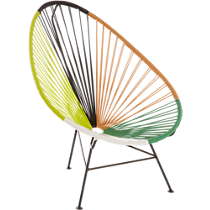 acapulco green outdoor lounge chair