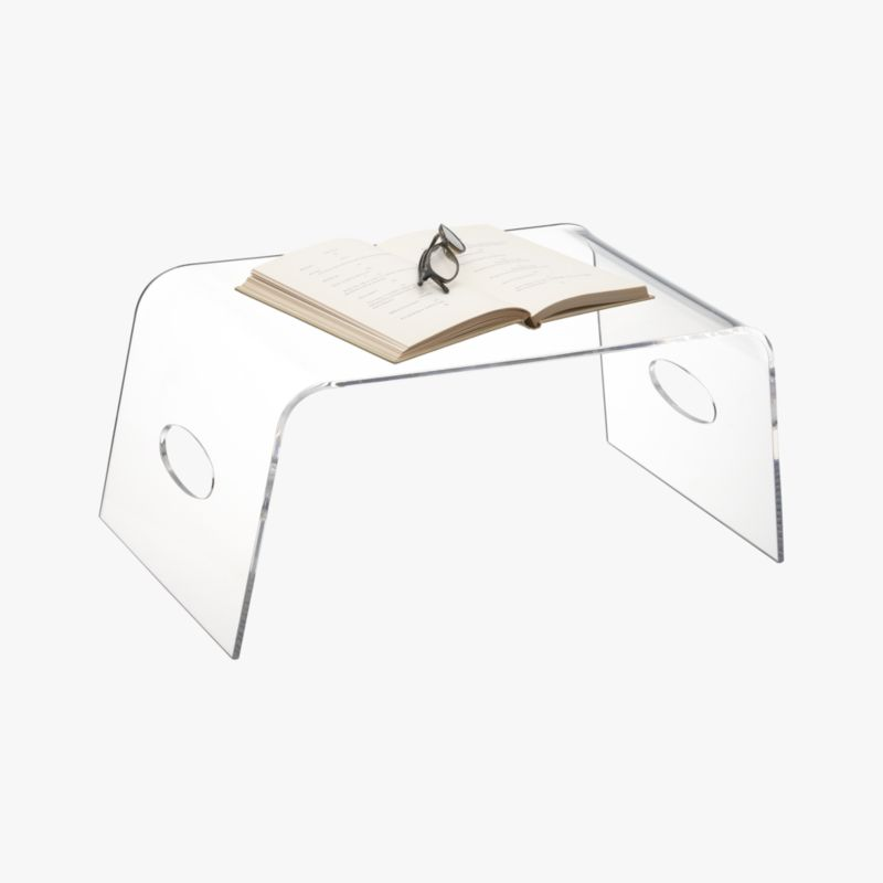 Acrylic Bed Tray Cb2