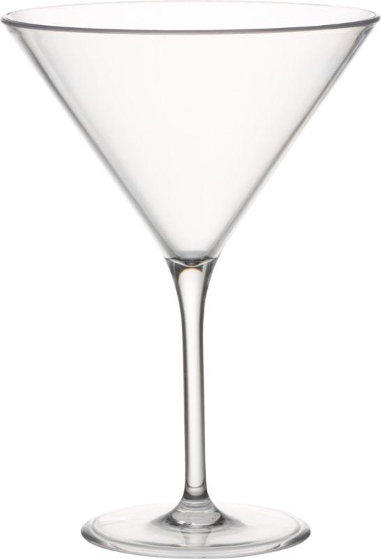 acrylic martini