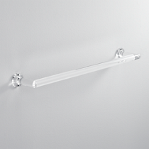 "acrylic 24"" towel bar"