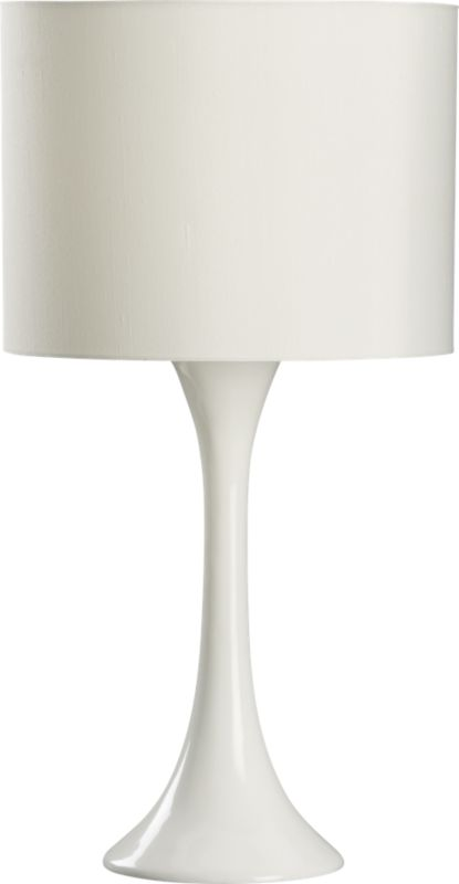 ada white table lamp