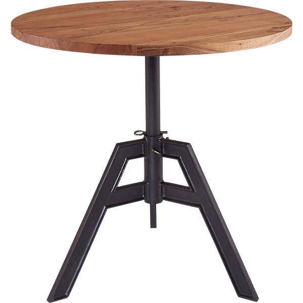 Image Result For Brushed Nickel Round Side Table