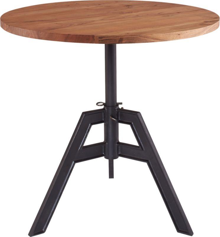 alias adjustable bistro table : CB2