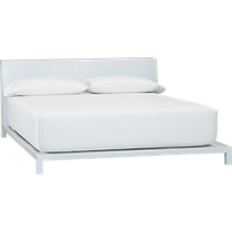 alpine white bed
