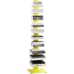 array yellow bookcase