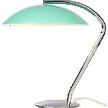 atomic aqua table lamp