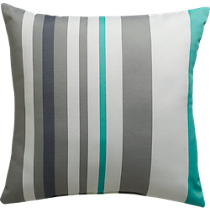 "augustan stripe 20"" pillow"