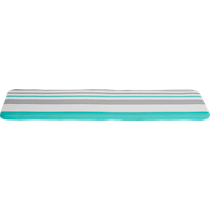 augustan stripe bench cushion