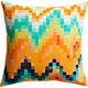 "aura 20"" pillow with feather insert"