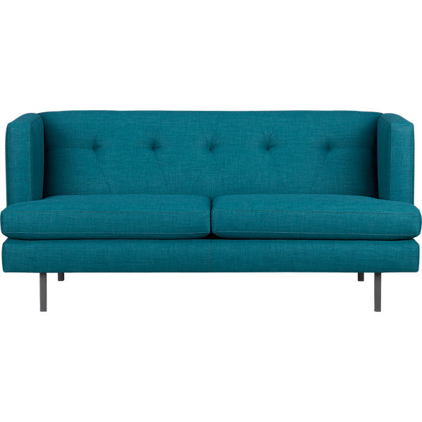 avec apartment sofa peacock cb2