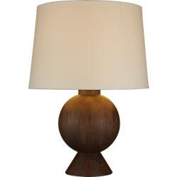 balance wood table lamp