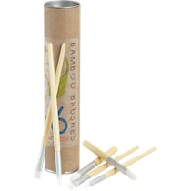 6-piece bamboo paint brush set