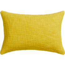 "basis citrine 18""x12"" pillow"