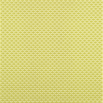 basketweave chartreuse placemat