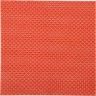 basketweave hot orange placemat.