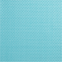 basketweave aqua placemat