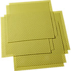 set of eight basketweave chartreuse placemats.