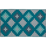 beach reversible outdoor rug 5'x8'