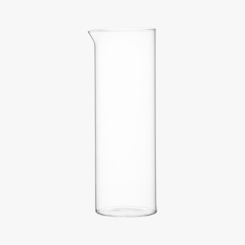 beaker glass pitcher