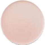 belay pink salad plate