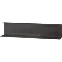 bent metal wall shelf