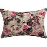 "bespatter 18""x12"" pillow with feather-down insert"