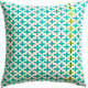 "bisect 16"" pillow with feather insert"