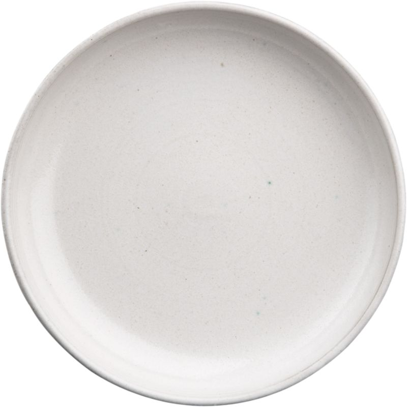 black clay salad plate