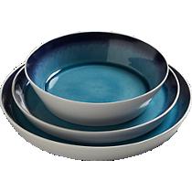 blue line dinnerware