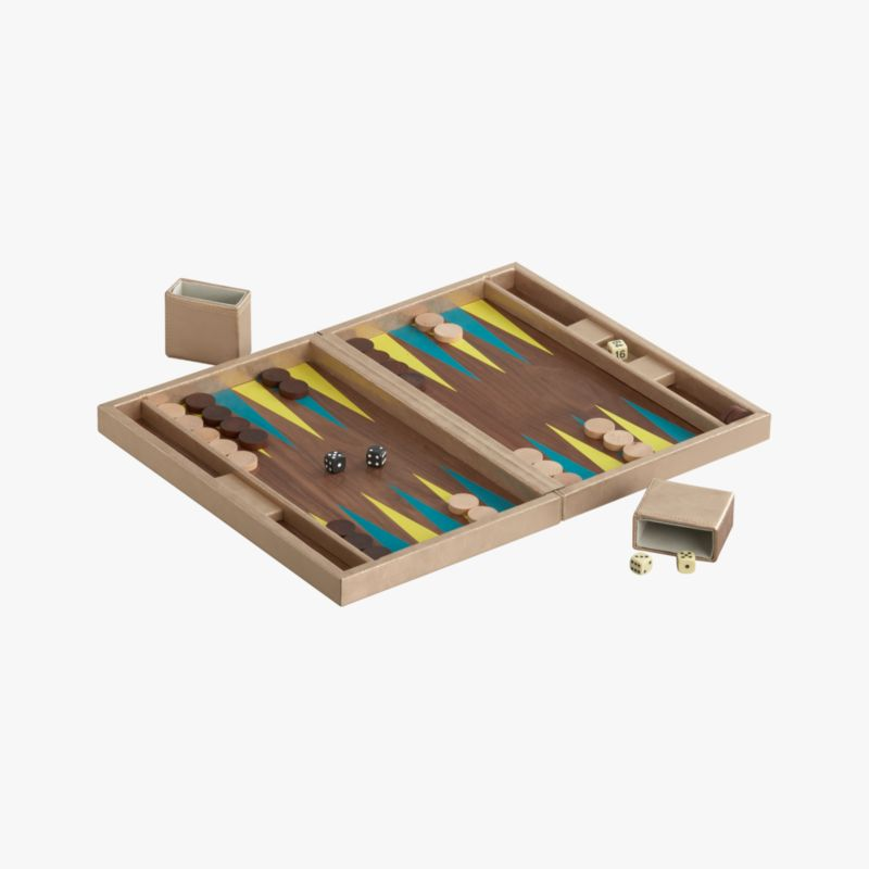 boa sorte backgammon game set