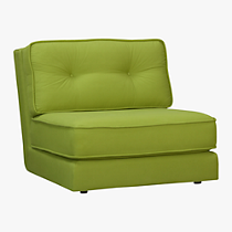 botao new leaf armless sectional chair