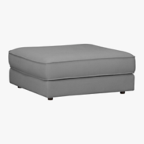 botao grey sectional ottoman