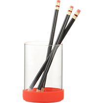 bounce pencil cup