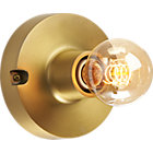 brass flush mount lamp.