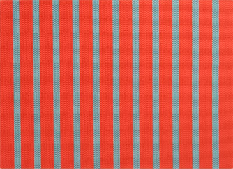 bright stripes placemat