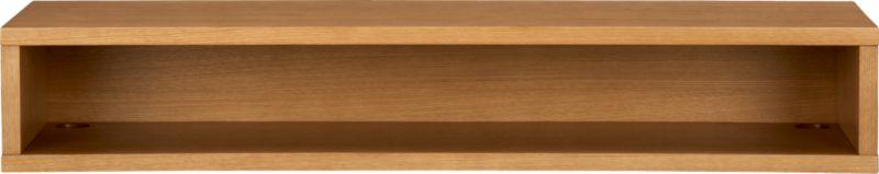 brink white oak veneer console