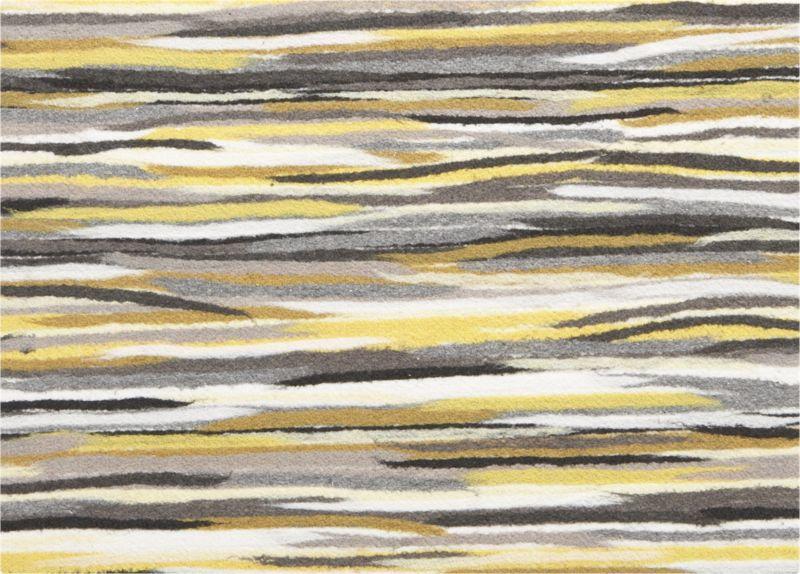 broken stripes placemat