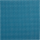 basketweave blue-green placemat