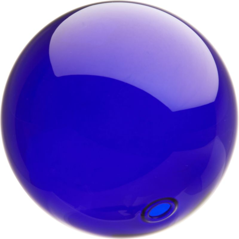 bubble ball blue