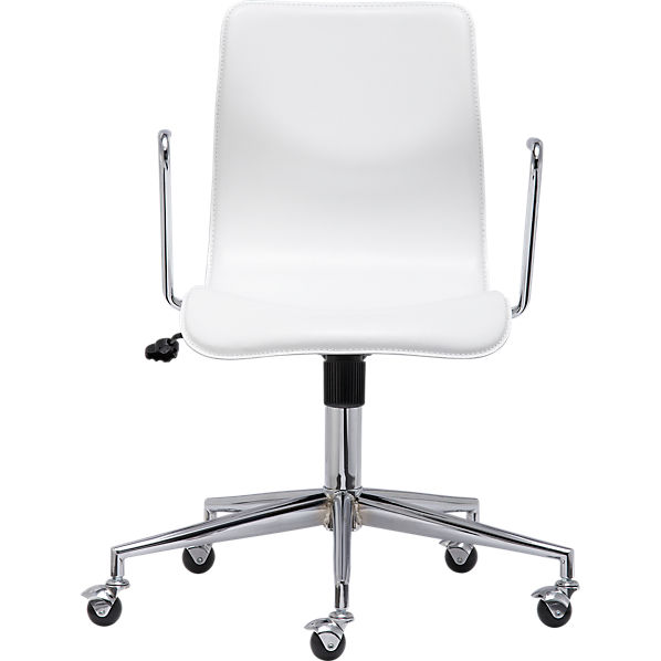 BubbleWhiteOfficeChairS10