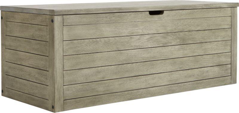 bunker storage chest-bench