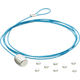 blue cable photo cord