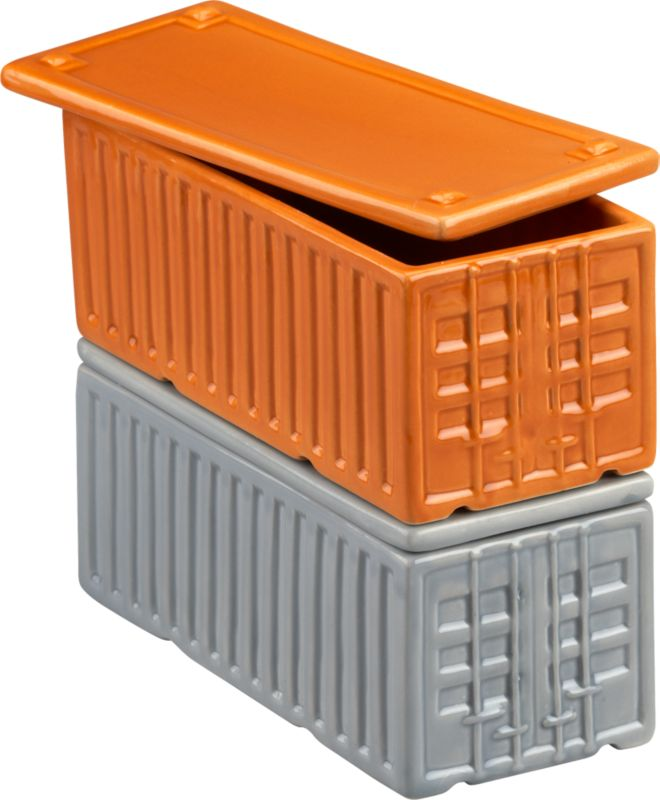 cargo containers set of 2