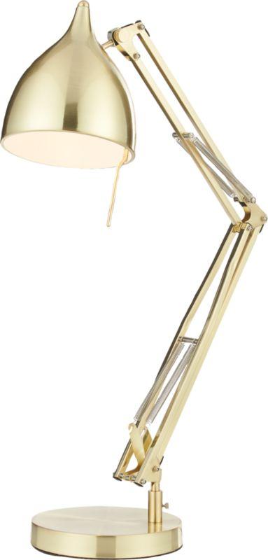 Carpenter Brass Table Lamp Cb2
