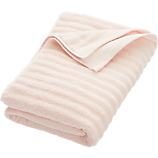channel pink cotton bath towel