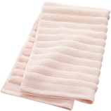 channel pink cotton hand towel