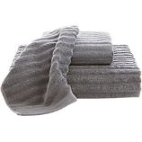 channel grey cotton bath towels